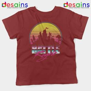 Battle Royale Red Kids Tshirt Play Fortnite Battle Royale Youth Tee Shirts