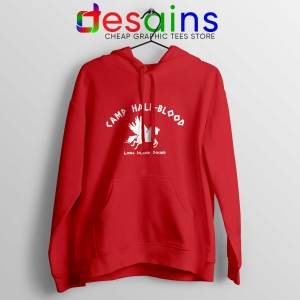 Camp Half Blood Chronicles Red Hoodie Percy Jackson Cheap Hoodies