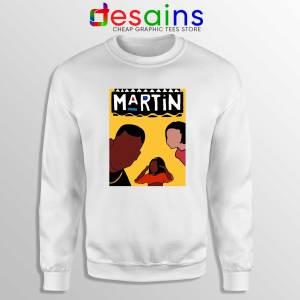 Martin Sitcom Poster Sweatshirt Cheap Crewneck Martin TV Show