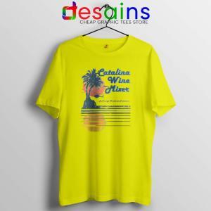 Catalina Wine Mixer Yellow Tshirt Step Brothers Cheap Graphic Tees Shirts