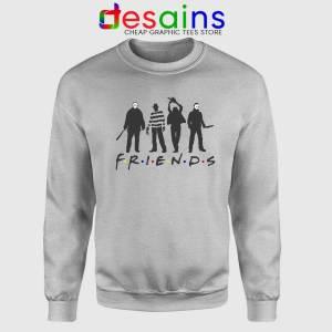 Friends Halloween Horror Film SPort Grey Sweatshirt Cheap Sweater Horror