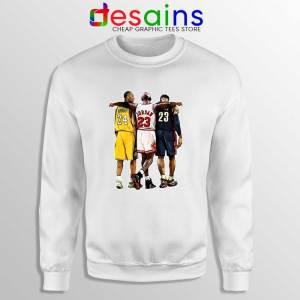 Kobe Bryant x Michael Jordan x Lebron James Sweatshirt NBA