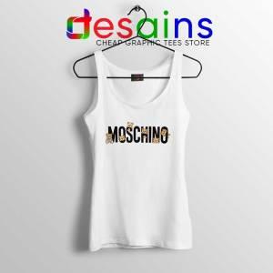 Moschino Teddy Bear Tank Top Moschino Tank Tops GILDAN S-3XL