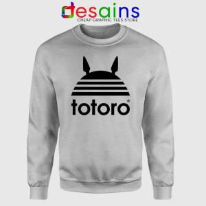 My Neighbor Totoro Adidas Sweatshirt Totoro Parody Sweater S-2XL
