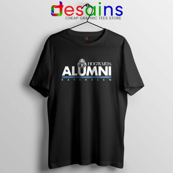 Ravenclaw Hogwarts Alumni Black Tshirt Buy Hogwarts Harry Potter Tees Shirts
