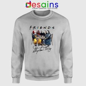 Stephen King Friends Sport Grey Sweatshirt Horror Crewneck Sweater S-2XL