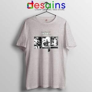 The Lamb Lies Down on Broadway Sport Grey Tshirt Genesis Band Tee Shirts