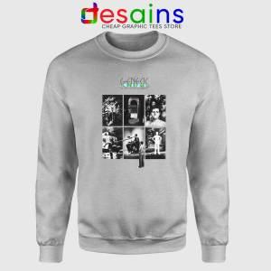 The Lamb Lies Down on Broadway Sweatshirt 2 Genesis Band Sweater Sport Grey