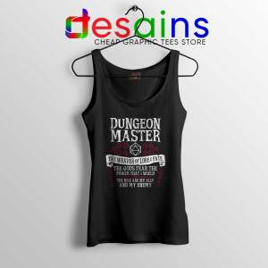 The Weaver of Lore and Fate Tank Top Dungeon Master Tank Tops Game