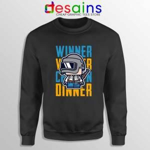 Winner Winner Chicken Dinner Sweatshirt PUBG Sweater S-2XL