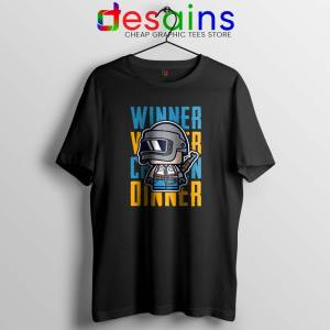 Winner Winner Chicken Dinner Tshirt PUBG Tees Shirts Size S-3XL