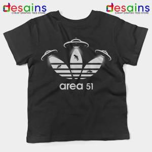 Area 51 Adidas Kids Tshirt Merch Area 51 Youth Tee Shirts S-XL