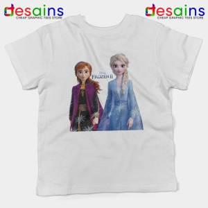 Elsa Anna Frozen 2 Kids Tshirt Disney Film Merch Youth Tee Shirts