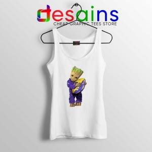 Groot I Love Baltimore Ravens Tank Top Guardians of the Galaxy NFL