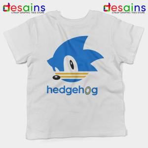 Hedgehog Sonic Kids Tshirt Sonic the Hedgehog Youth Tee Shirts