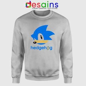 Hedgehog Sonic Sport Grey Sweatshirt Sonic the Hedgehog Sweater