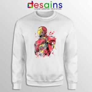 Iron Man Hurt Sweatshirt Hurt Tony Stark Sweater S-3XL