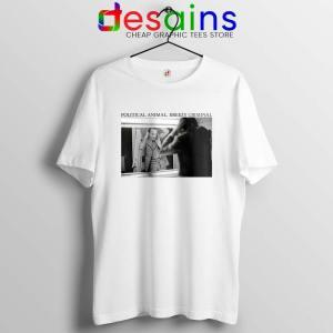 Jacques Chirac Political Animal Tshirt Breezy Criminal Tee Shirts S-3XL