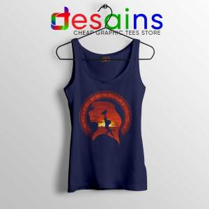 Learn From It The Lion King Navy Tank Top Quotes Disney Tops S-3XL
