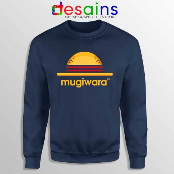 Mugiwara One Piece Navy Sweatshirt Monkey D Luffy Sweater S-3XL