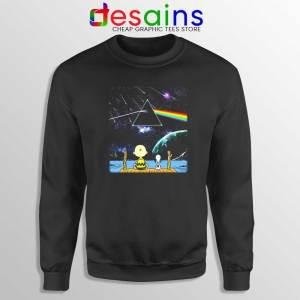 Pink Floyd Snoopy Sweatshirt Dark Side Of The Moon Sweater S-3XL