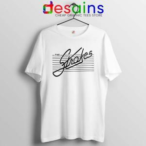 The Strokes Merch White Tshirt Cheap Graphic Tee Shirts Size S-3XL
