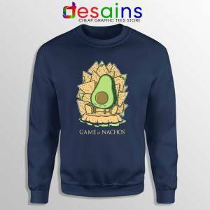 Game of Nachos Avocado Navy Sweatshirt Game of Thrones Sweater S-3XL