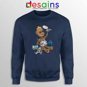 Groot And Galaxy Toys Sweatshirt Tardis Star Wars Toy Story Sweater