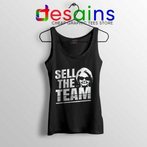 Martha Ford Sell The Team Tank Top Detroit Lions Tank Tops S-3XL