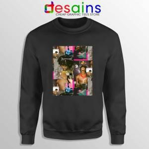 Playboi Carti Photo Collages Black Sweatshirt Playboi Merch Sweater