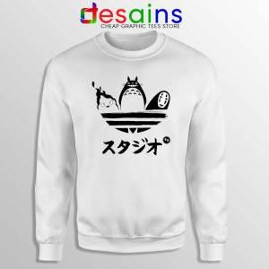 Studio Ghibli Adidas Sweatshirt My Neighbor Totoro Sweater S-3XL