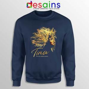 The Tina Turner Musical Navy Sweatshirt Tina Turner Sweater