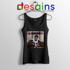 AI YoungBoy 2 Song Tank Top YoungBoy Never Broke Again Tops S-3XL