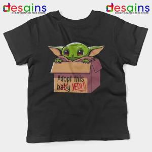 Adopt this Baby Jedi Kids Tshirt Baby Yoda Jedi Youth Tees S-XL