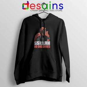 Deadpool No One Cares Hoodie Funny Deadpool Hoodies Size S-3XL