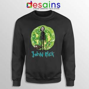John Rick Chapter 3 Sweatshirt Rick Sanchez John Wick Sweaters S-3XL