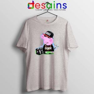 Peppa Pig Swag Sport Grey Tshirt Peppa Pig Adventure Tee Shirts