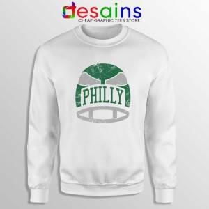 Philly Retro Helmet Sweatshirt Philadelphia Eagles Sweater S-3XL