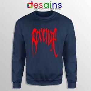 Revenge XXXTentacion Navy Sweatshirt XXXTentacion mixtape Sweaters