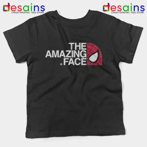 Spider Man The Amazing Face Kids Tshirt The North Face Tees Youth