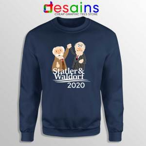 Statler and Waldorf 2020 Navy Sweatshirt Muppet Sweater S-3XL