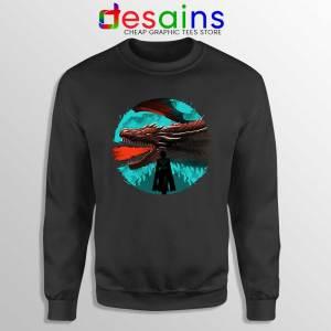 Best Dracarys Dragon Art Sweatshirt Daenerys Targaryen Sweaters S-3XL