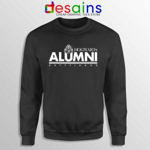Hogwarts Alumni Gryffindor Black Sweatshirt Harry Potter Sweaters