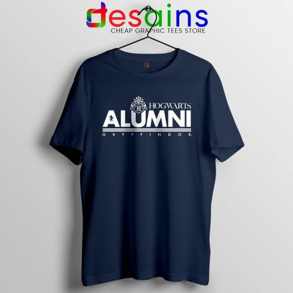Hogwarts Alumni Gryffindor Navy Tshirt Harry Potter Tee Shirts S-3XL