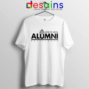 Hogwarts Alumni Gryffindor White Tshirt Harry Potter Tee Shirts S-3XL