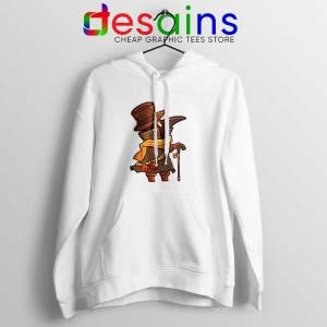 Mask Plague Doctor White Hoodie Medical Physician Hoodies S-2XL