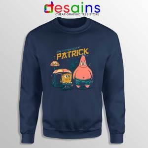 My Neighbor Patrick Star Navy Sweatshirt SpongeBob SquarePants Sweaters