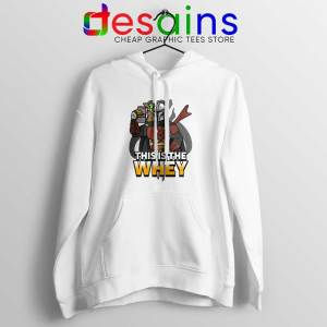 This is The Whey Protein Hoodie Fitness Mandalorian Hoodies S-2XL