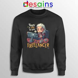 Tos A Coin To Your Freelancer Sweatshirt The Witcher Sweaters S-3XL