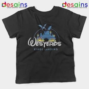 Westeros Kings Landing Disney Kids Tshirt Game of Thrones Youth Tees